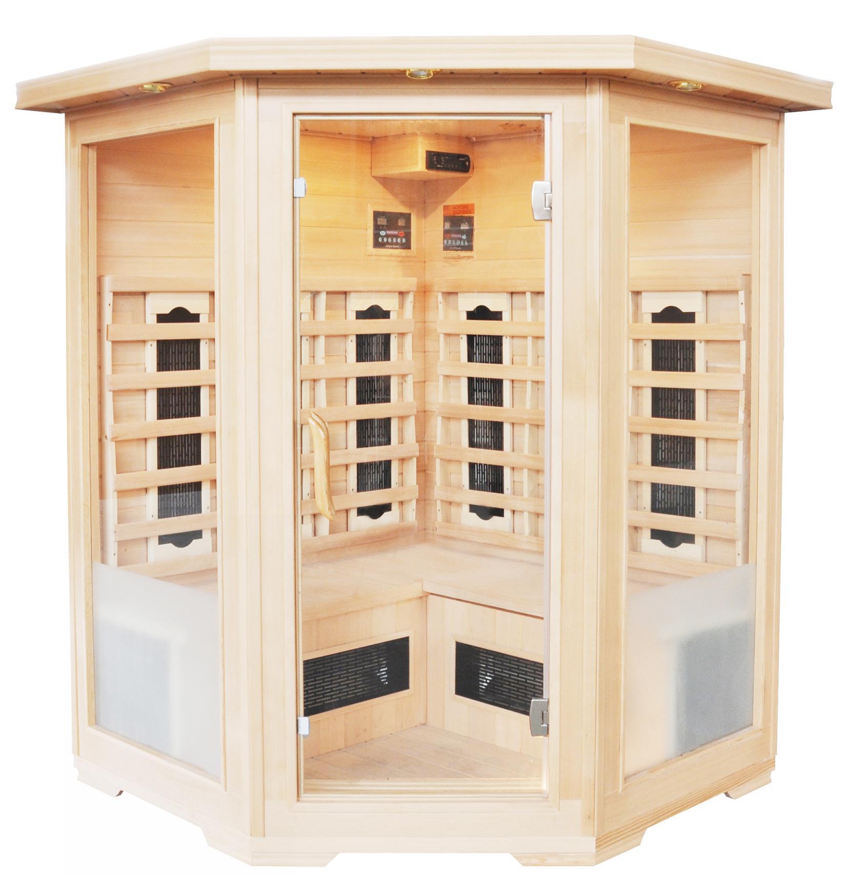 infrarotkabine dreamsauna24 w rmekabine g nstige. Black Bedroom Furniture Sets. Home Design Ideas